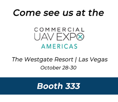 Come see us at the Commercial UAV EXPO Americas - Booth 333