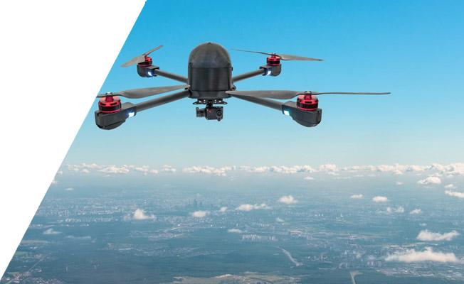 city drone crop